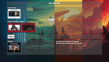 Star Wars RPG Gameplay